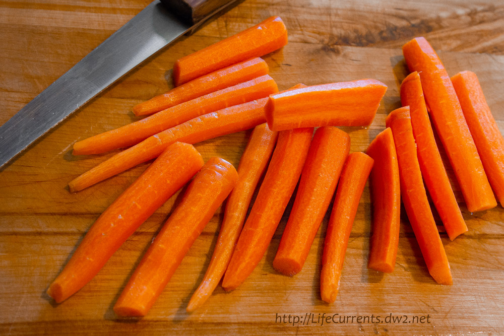 Maple-Thyme Roasted Carrots.