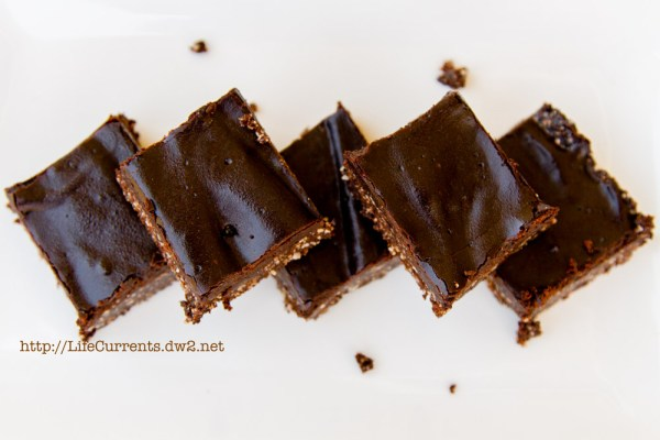 Double Layer Carob Fudge Bites | Life Currents