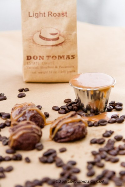 Salted Caramel Coffee Truffles and a giveaway! | Life Currents https://lifecurrentsblog.com