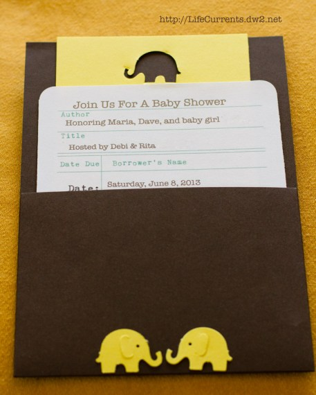 Baby Shower Invites | Life Currents Maria's Baby Shower: As many of you know, my brother and sister in-law are expecting their first baby soon. Here are some pictures from the shower! #babyshower #party #shower