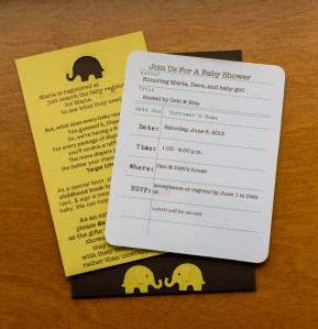 Baby Shower Invites | Life Currents