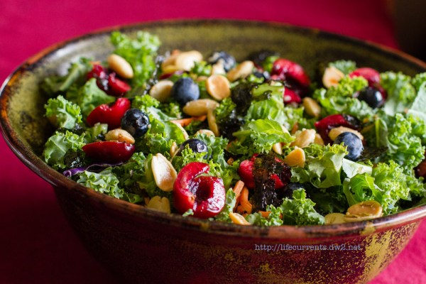 Anti-inflammatory Kale Salad | Life Currents Eating anti-inflammatory foods can help with arthritis or with healing a leg injury. Kale is a great anti-inflammatory food, and it's delish! Here's my Anti-inflammatory Kale Salad.