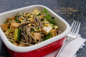 Soba Noodle Salad with Grilled Veggies and Tofu   Life Currents