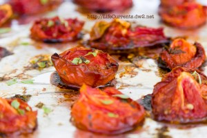 "DIY Homemade Oven Roasted ""Sun"" Dried Tomatoes 