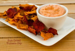 Preserving Summer: Sun Dried (Oven Roasted) Tomatoes: Sun Dried Tomato Dip