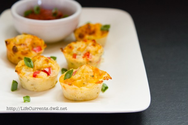 Red Pepper and Shallot Pizza Puffs | Life Currents https://lifecurrentsblog.com Pizza Puffs: bite sized treats that are perfect for happy hour, appetizers, lunch, or nibbles while watching football! #appetizer #snack #pizza