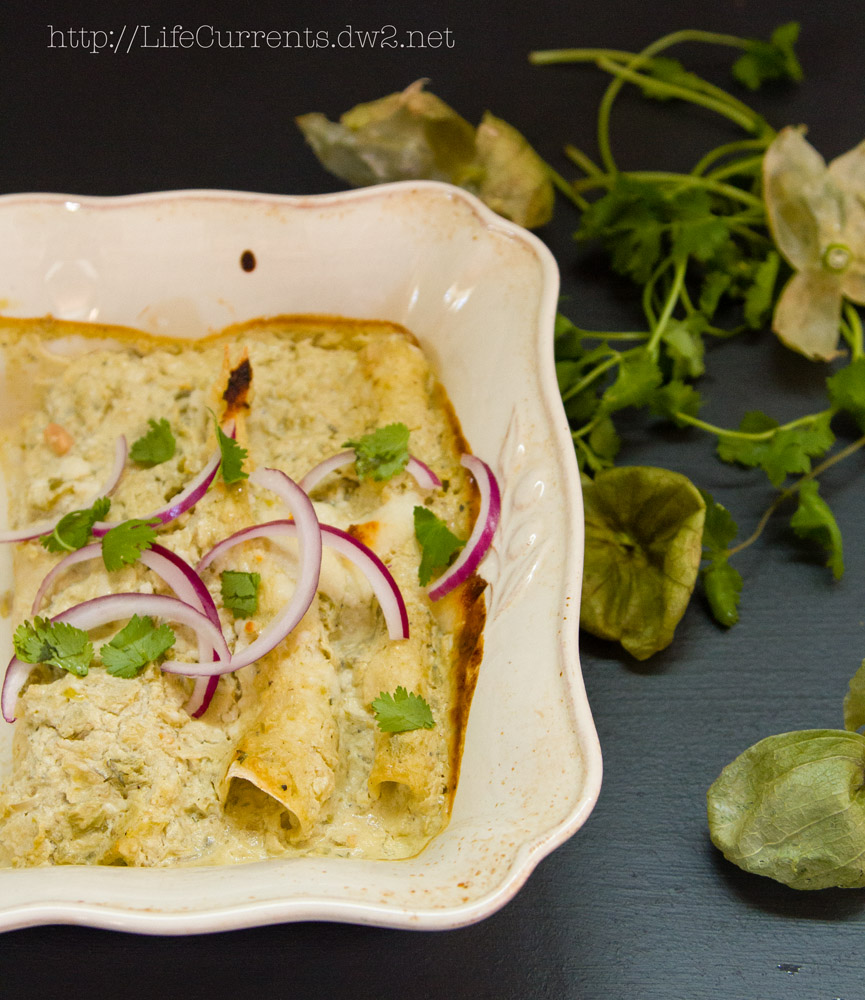 Island Trollers Tuna Enchiladas with tomatillos and green chile cream sauce | Life Currents