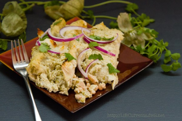 Island Trollers Tuna Enchiladas with tomatillos and green chile cream sauce  |  Life Currents   https://lifecurrentsblog.com  Island Trollers Tuna Enchiladas with tomatillos and green chile cream sauce  |  Life Currents   https://lifecurrentsblog.com  It's time for another Island Trollers recipe. This is one that I've been thinking about since I started writing recipes for them. I thought a nice creamy sauce with the heat of a habanero tuna would be so awesome. And, boy, did this recipe deliver! Tasty, creamy, pretty easy too. #Mexican #Tuna #enchiladas