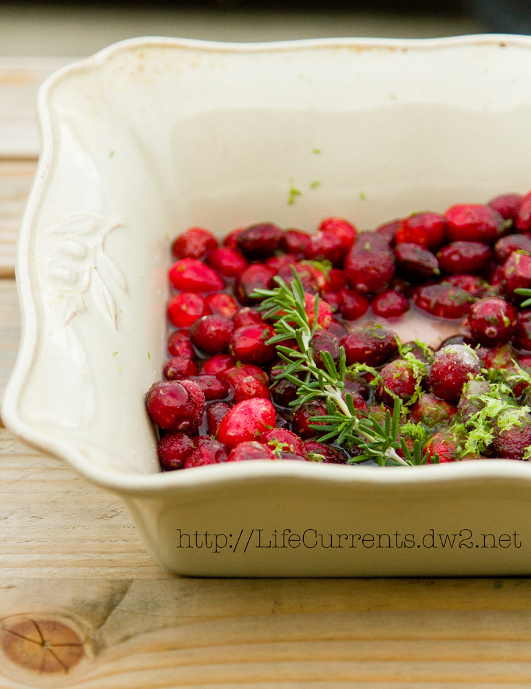 Simple Roasted Cranberry Sauce