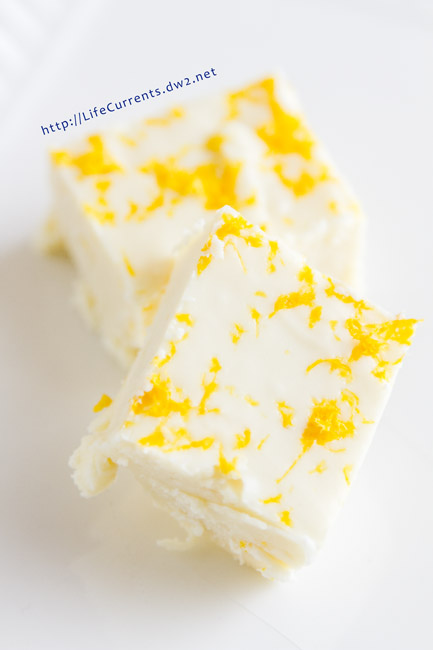 Lemon Fudge {just be nice}