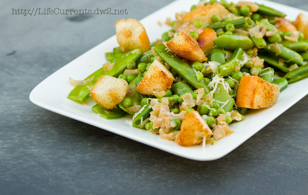 Creamy Skillet Peas: a great side dish for any occasion!   Life Currents