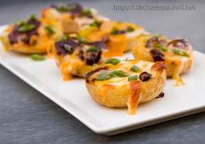 Baked Mexican Stuffed Potato Skins | Life Currents