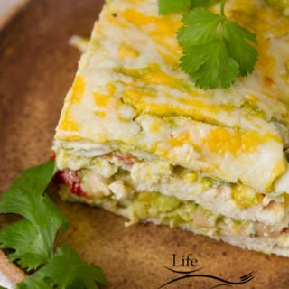Mexican Casserole It's a tasty, healthy, and easy to make layered Mexican casserole recipe!