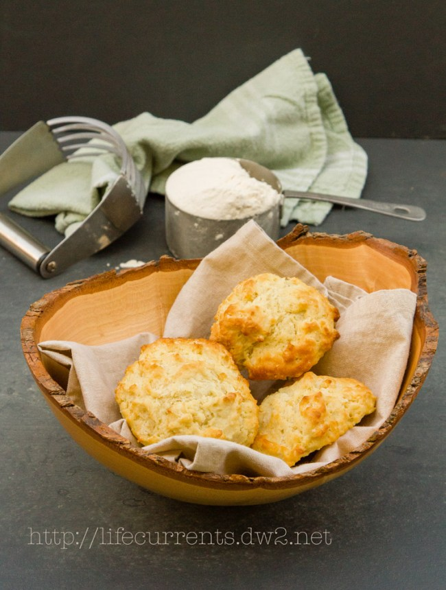 Lentil Soup featured recipe for Fresh Buttermilk Biscuits