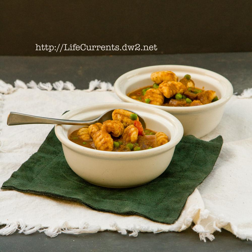 Vegetarian Gnocchi with Peruvian Seco Sauce #meatlessMonday #Peruvian #sauce #gnocchi #potato