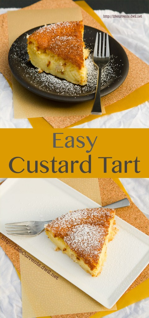 Custard Tart or 1-2-3 Tart Recipe