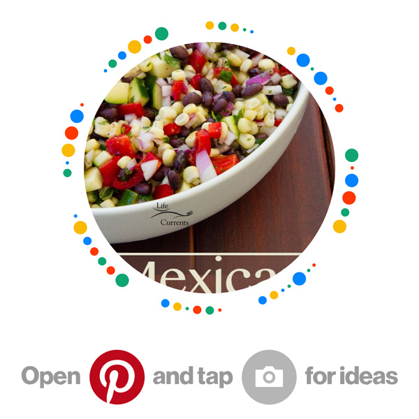 Mexican Corn Salad pin code for Mexican for me Pinterest board