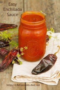 Easy Enchilada Sauce   Life Currents #Mexican #enchilada #sauce #easy