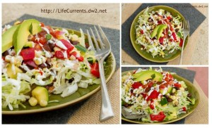 Tostada with Mexican Corn Salad is a great fun meal