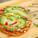 Mexican Flatbread Pizza | Life Currents #vegetarian #pizza #Mexican https://lifecurrentsblog.com