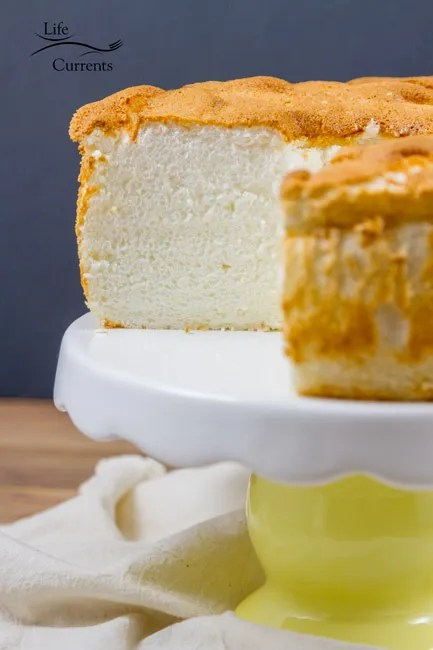 Grandma's Classic Angel Food Cake recipe from Scratch