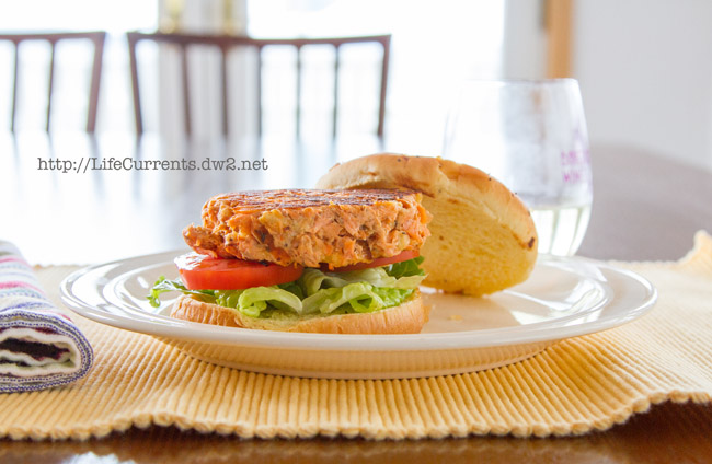 Salmon Burgers or what to do with Leftover Salmon | Life Currents
