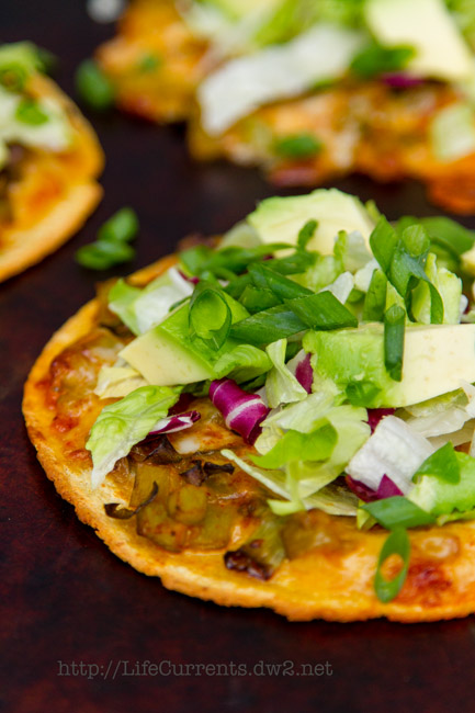 Roasted Chile Tostadas   Life Currents