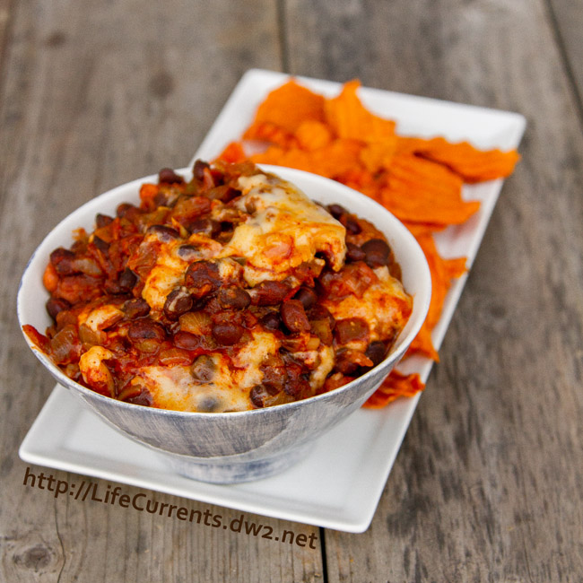 Slow Cooker Bean Dip for Tailgating Snack Month on Life Currents
