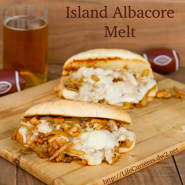 Island Trollers Albacore Melt for Tailgating Snacks month | Life Currents