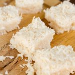 Coconut Bars are tasty little vegan treats filled with healthy coconut goodness | Life Currents paleo http://lifecurrentsblog.com