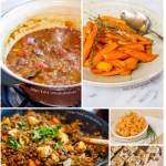My Christmas Eve Menu 2014 and a recipe for Lentils with Winter Vegetables
