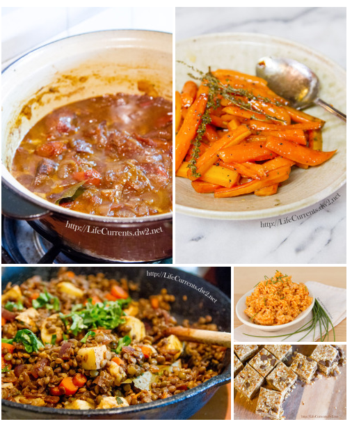 My Christmas Eve Menu 2014 and a recipe for Lentils with Winter Vegetables https://lifecurrentsblog.com