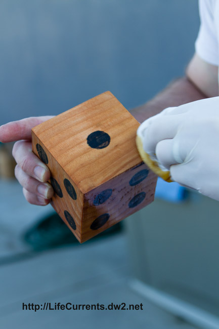 Homemade Lawn Dice | Life Currents