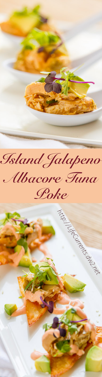 Island Jalapeno Albacore Tuna Poke Recipe