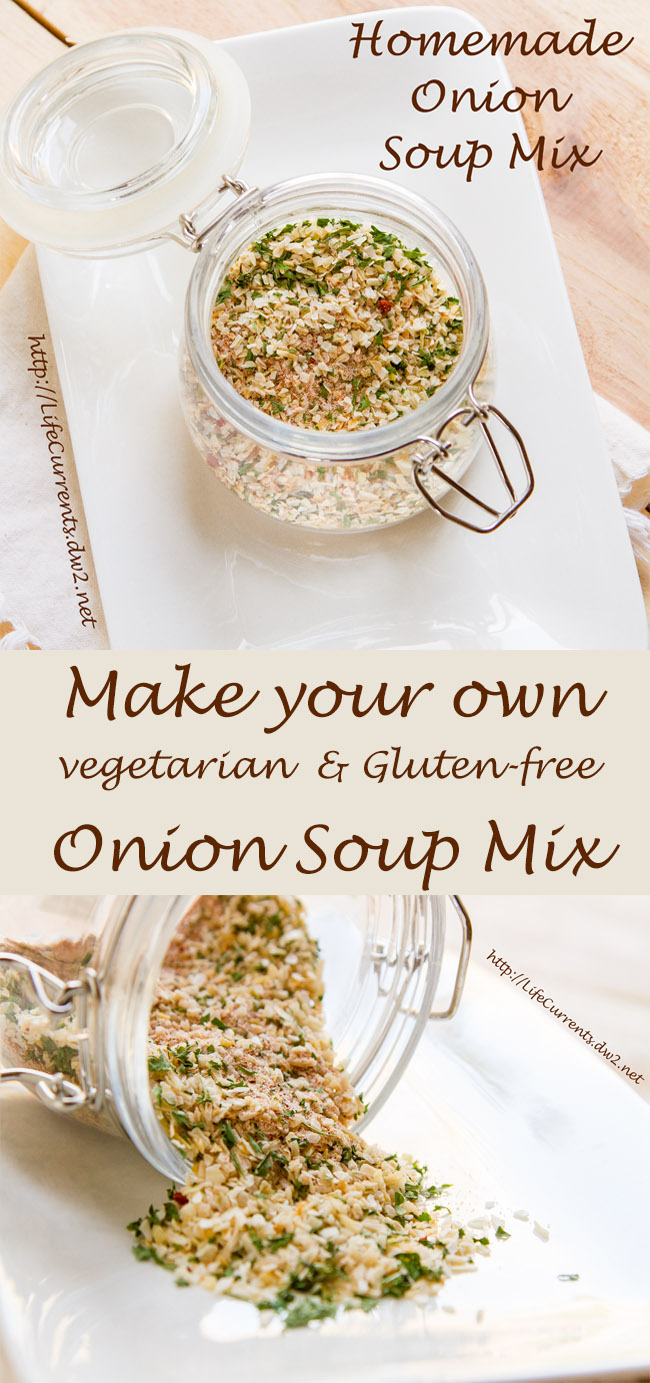Homemade Onion Soup Mix ~ It's so easy to make your own
