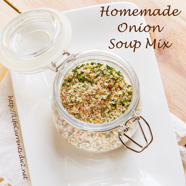 Homemade Onion Soup Mix for Freaky Friday recipes