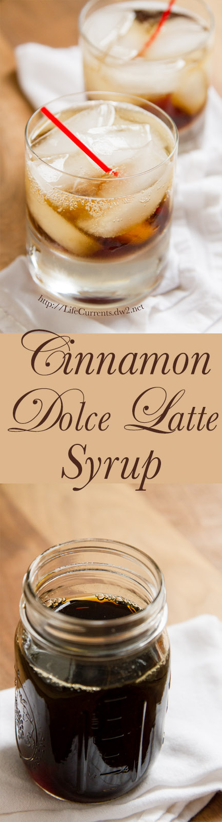 Cinnamon Dolce Latte Syrup