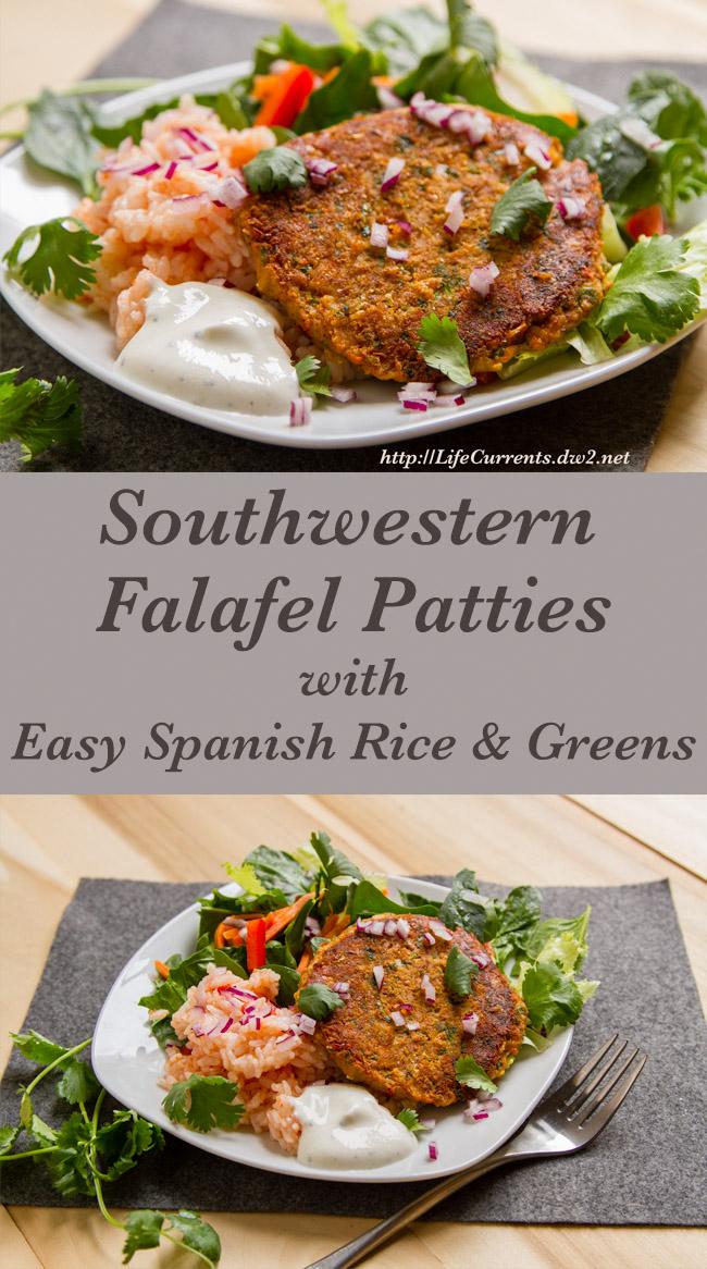 Southwestern Falafel