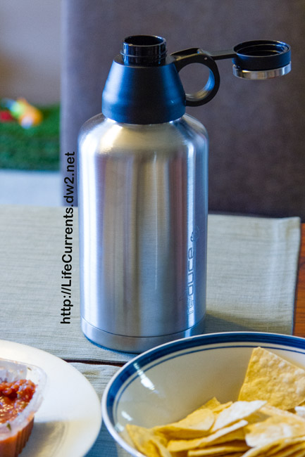 Growler by Reduce: here it is at the happy hour!