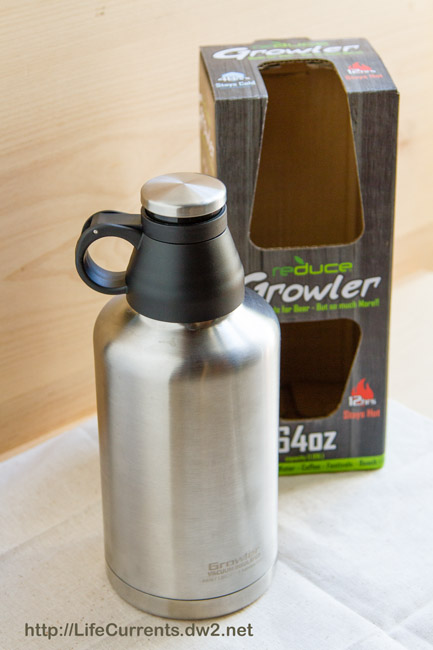 Gift Guide 2015: Growler by Reduce https://lifecurrentsblog.com