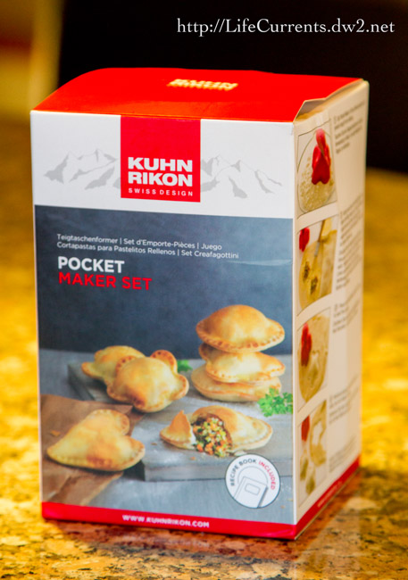 Pocket Maker Set by Kuhn Rikon is super fun! Read my review and get a great recipe for Blackberry Nutella Hand Pies