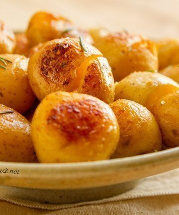 These Potatoes Fondantes, or smashed potatoes, are so delicious! I've been making them for dinner parties and special events for years, and always get requests for the recipe.