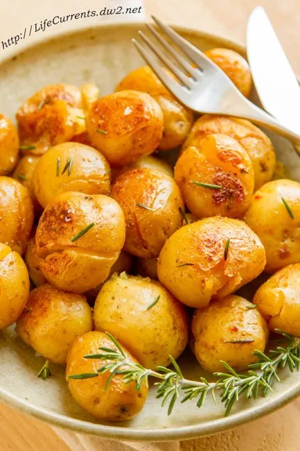 Potatoes Fondantes, or smashed potatoes, are so delicious! I've been making them for dinner parties and special events for years, and always get requests for the recipe.