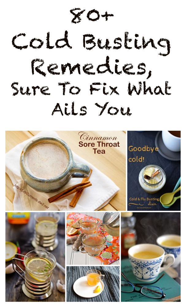 Cold & Flu Busting Help: More than 80 wonderful healing things to make you feel better when you're sick, poorly, under-the weather, or have the flu, or maybe you imbibed a bit too much.