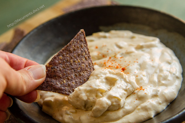 Easy Nacho Dip featuring Bertolli by Life Currents OMG this Easy Nacho Dip is amazing! So creamy; so full of flavor. And, super easy to mix up. Your guests will love it, and they will be coming back for more! Bertolli Riserva makes it easy, tasty, and affordable to serve your guests amazing food, even for big football parties! #VivaBertolli #ad https://lifecurrentsblog.com