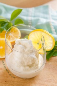 Coconut Lemon Slushie https://lifecurrentsblog.com