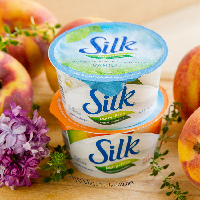 April is National Soy Foods Month. Celebrate with some Mocha Frozen Yougrt made with Silk Soy Yogurt