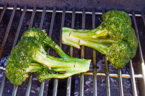 Grilled Garlicky Broccoli by Life Currents with detailed photos to make the recipe even easier!