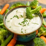 Blue Cheese Sauce is perfect for dipping as well!