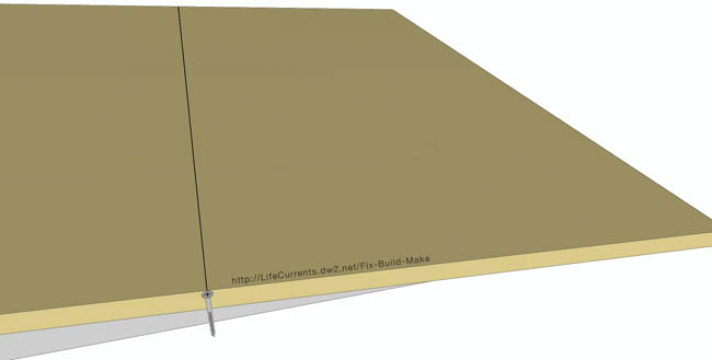 Wheelchair Accessible Ramps Post with Free Building Plans 09_MarkLastScrewLine